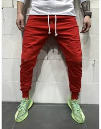 Casual Sports Slim Trousers Red L Joggers Sale, Price & Reviews ...
