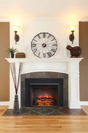 ideas pictures modern portable fireplace flavahomecom: an electric fireplace insert convert your old wood burning fireplace into an easy to use