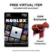 Roblox $10 Digital Gift Card [Includes Exclusive Virtual Item] [Digital ...