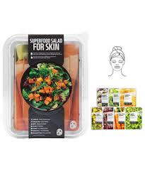 <b>Superfood Salad For Skin</b> Masks