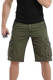 Dacawin Hit Items <b>Multi</b>-<b>Pockets Casual</b> Shorts Cargo Pants <b>Men</b> ...