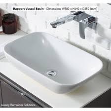 rhodes pursuit mm bathroom vanity unit: prev text rapport vessel basin prev