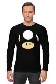 <b>Лонгслив Гриб</b> из <b>Марио</b> #782149 от coolmag по цене 1 734 руб ...