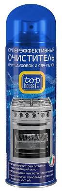 <b>Очиститель</b>-аэрозоль для плит, духовок и СВЧ печей <b>Top House</b> ...