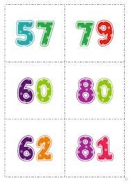 Resultado de imagen de 2 digits numbers