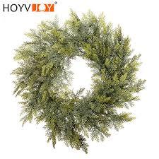 <b>HOYVJOY</b> Farmhouse <b>Decor</b> PE Cypress Leaf <b>Garland</b> Christmas ...
