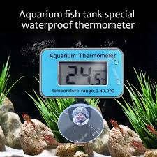 <b>Waterproof Digital LCD</b> Fish Tank <b>Thermometer Underwater</b> ...