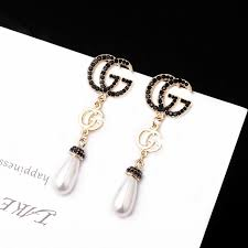 2019 S925 Silver Needle Long Luxury <b>Waterdrop Pearl</b> Dangle ...