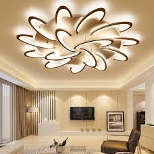 <b>LICAN Modern LED Ceiling</b> Lights for Living room Bedroom ...