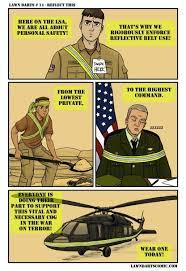 Reflective Belts save lives : Military via Relatably.com