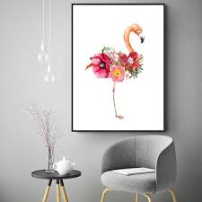 Love <b>Cuadros Decoracion</b> Wall Pictures For Living Room Flamingo ...