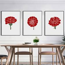 <b>HAOCHU</b> Abstract Rose Flower Red Passion Love Cartoon Picture ...