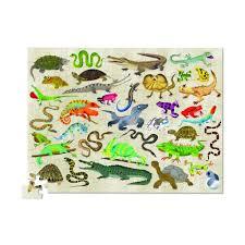 <b>Crocodile Creek Пазл</b>, 100 дет., Рептилии и Земноводные,36 ...