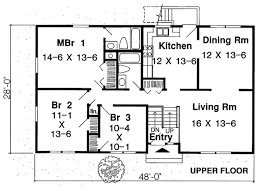 House Plan at FamilyHomePlans comCountry Ranch Traditional House Plan Level One