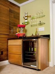 entrancing home bar ideas design with small wooden home bar table set black glass top oak charming home bar design