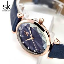 <b>SHENGKE SK Luxury Brand</b> Leather Ladies Wrist Watches Women ...
