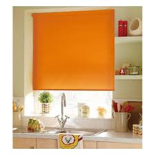 <b>Рулонная штора</b> Эскар <b>однотонная 52х170</b>, апельсин — купить в ...