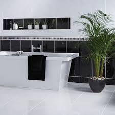 black metro victorian style bevelled brick kitchen gloss black metro victorian style bevelled brick kitchen wall tiles  x