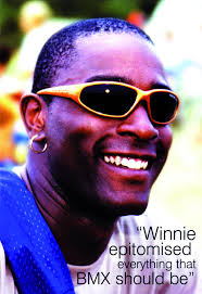 Winnie Wright was the epitome of BMX racing. So many kind words have been written and spoken but none can truly do justice to the big man. - WINNIESMILE