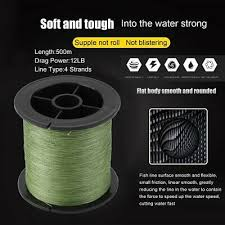 <b>Fairiland</b> 500m 8 Strands <b>Braided</b> Sea <b>Fishing Line</b> Abrasion ...