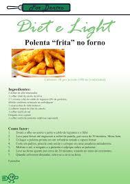 Resultado de imagem para IMAGENS de receitas de POLENTA FRITA
