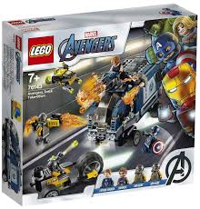 <b>Конструктор LEGO Marvel</b> Super Heroes 76143 Мстители ...