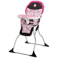 <b>Disney Baby Minnie Mouse</b> Simple Fold Plus High Chair with 3 ...