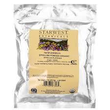 Starwest Botanicals, Органический <b>порошок спирулины</b>, 1 фунт ...