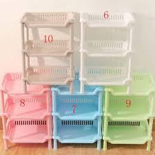 Shelf Kitchen Storage <b>Detachable Three layer</b> Magazine Rack ...