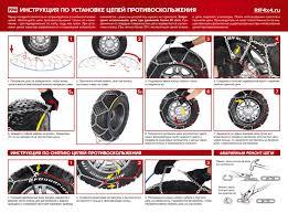 <b>Цепи противоскольжения</b> на колеса - купить в Москве, фото ...