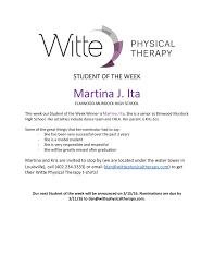 elmwood newsletter  student of the week selection page 001