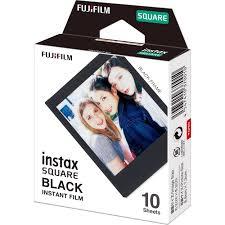 <b>Fujifilm instax SQUARE Black</b> Instant Film (10 Exposures)