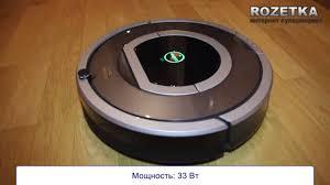 Обзор <b>робота</b>-<b>пылесоса iRobot</b> Roomba 780 - YouTube
