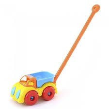 Каталка-<b>игрушка Knopa</b> грузовик 22 см - Акушерство.Ru