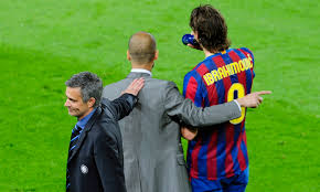 Image result for The story of Mourinho & Guardiola's heated rivalry