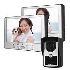 TMEZON <b>7 Inch Wireless</b>/<b>Wired</b> Video Door Phone <b>Wifi</b> IP Doorbell ...