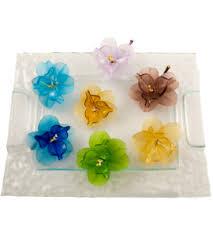 <b>Murano Glass Flowers</b> | Long stemmed <b>glass flowers</b>
