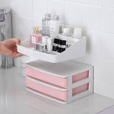 <b>1pc Makeup Storage</b> Box Container <b>Plastic Cosmetic Drawer</b> ...