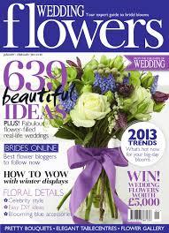 January/February 2013 Wedding Flowers by Wedding Magazine ...