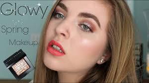 GLOWY Spring Makeup   ft. <b>Bobbi Brown Pink</b> Glow Highlighter ...