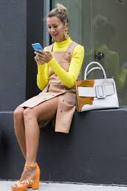 work outfit ideas for the first day of fall glamour first day of fall outfit idea turtleneck layered under dress