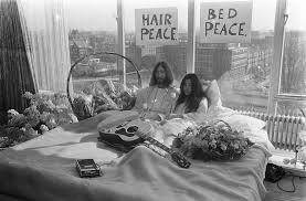 <b>John Lennon</b> and <b>Yoko</b> Ono's 1969 'bed-in for peace' was an anti ...