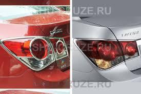 Хром <b>накладки задние</b> фонари Cruze седан 93745475
