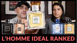 <b>Guerlain L'Homme Ideal</b> Fragrances Ranked By Ashley - YouTube