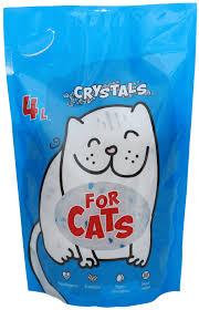 <b>FOR CATS наполнитель силикагелевый</b> (без запаха), 4 л ...