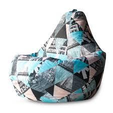 <b>Кресло</b>-<b>мешок Bean-Bag Груша</b>, Жаккард, Размер XXL — купить ...
