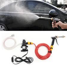 12v 60w <b>electric</b> car wash <b>pump water</b> cleaner washer pressure ...