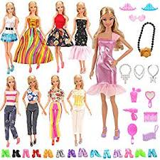 BARWA Lot 15 Items 5 Sets Fashion Dresses Casual ... - Amazon.com