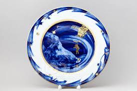 <b>Декоративная тарелка</b> рис. Космическая фотоохота (<b>27</b> см)