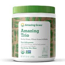 Amazing Grass Greens Trio: Greens Powder with ... - Amazon.com